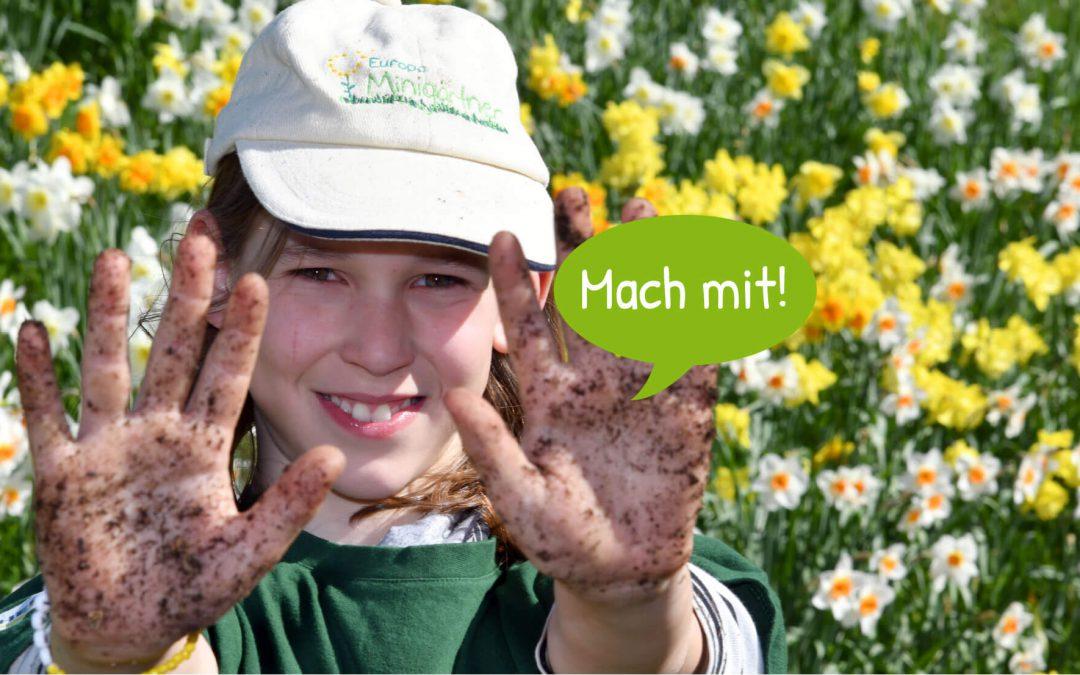 Minigärtner Ravensburg  suchen Verstärkung