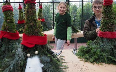 Von Minigärtnern und Weihnachtswichteln