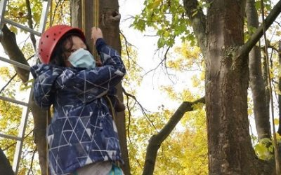 Mit dem KletterMax in die Bäume